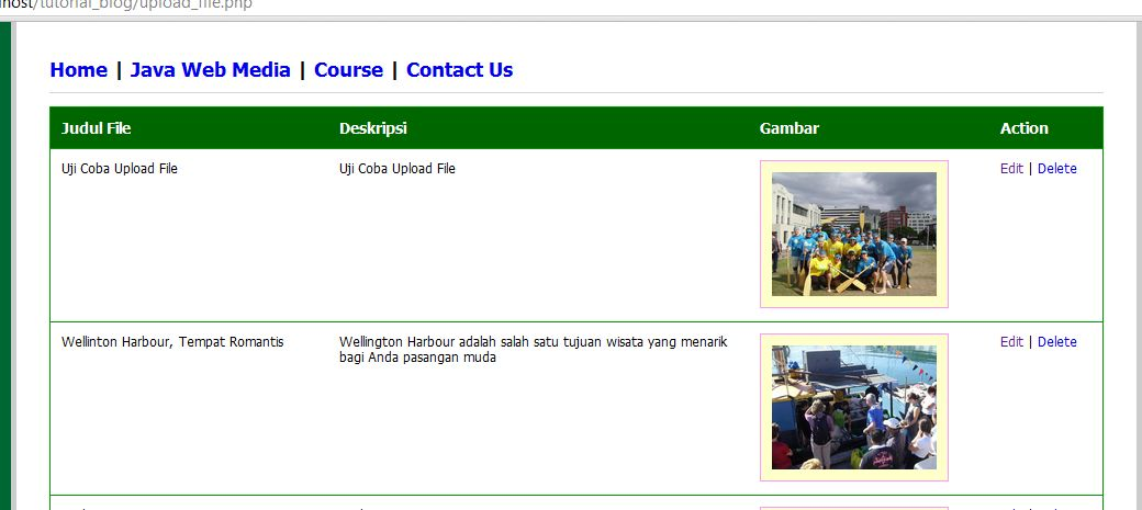 Java Web Media: Web Design Course Depok