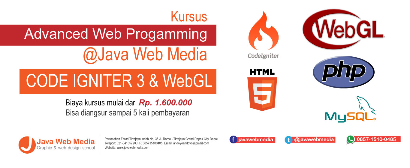 Advanced Web Programming – Kursus Web Depok
