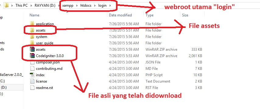 Konfigurasi Webroot Codeigniter - Java Web Media Depok
