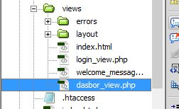 File dasbor_view.php Codeigniter - Kursus Web Programming Java Web Media