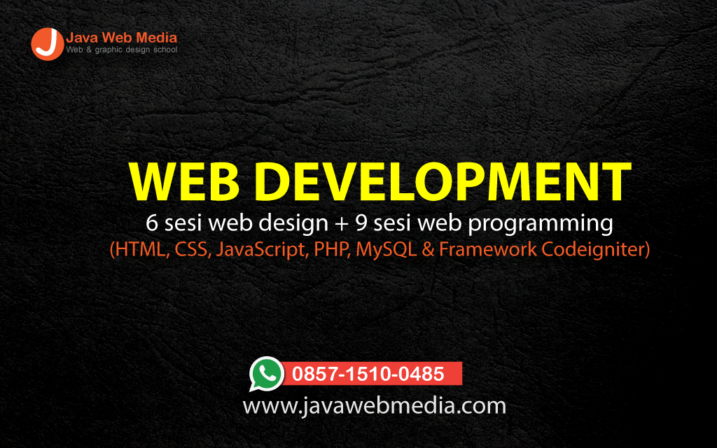 Web Development & Programming Course Depok - Java Web Media