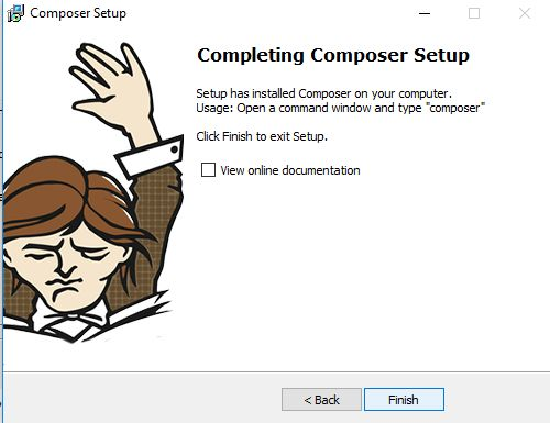Cara install Composer di Windows