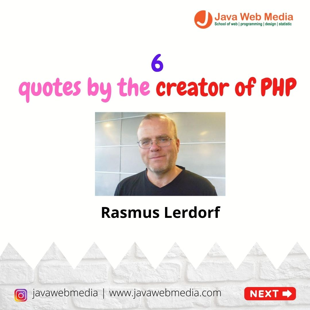 6 quotes by the creator of PHP