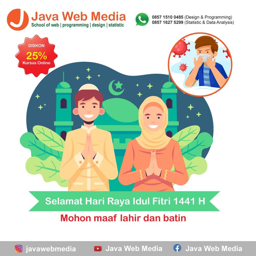 Selamat Hari Raya Idul Fitri 1441 H dan Diskon Kursus Online 25%