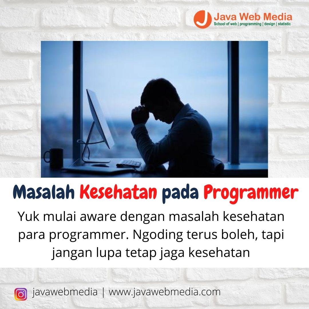 Masalah Kesehatan pada Programmer