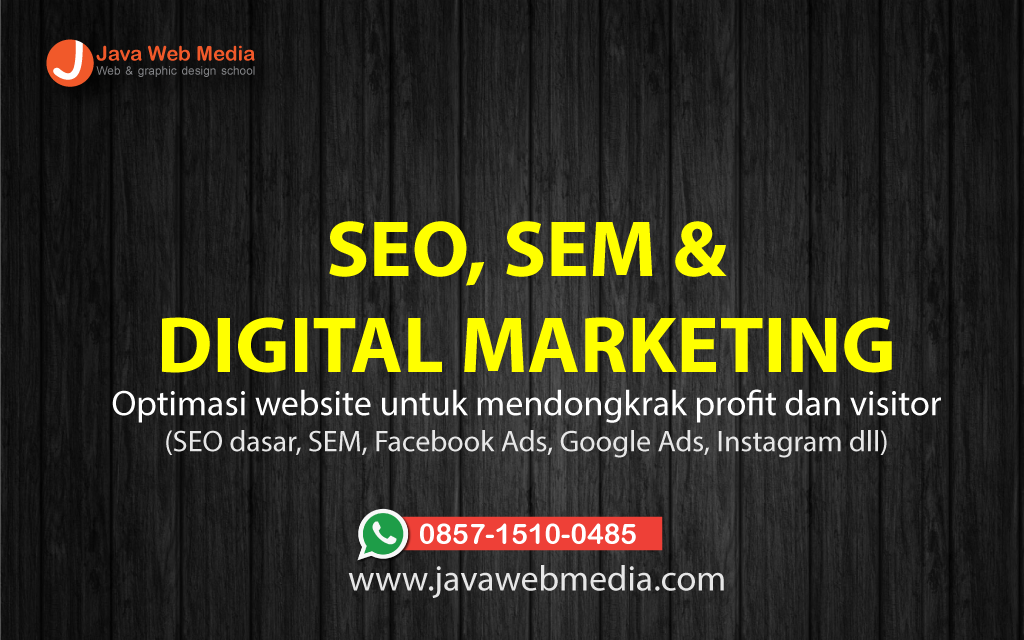 Kursus Digital marketing (SEO)