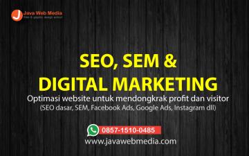 Digital marketing (SEO)