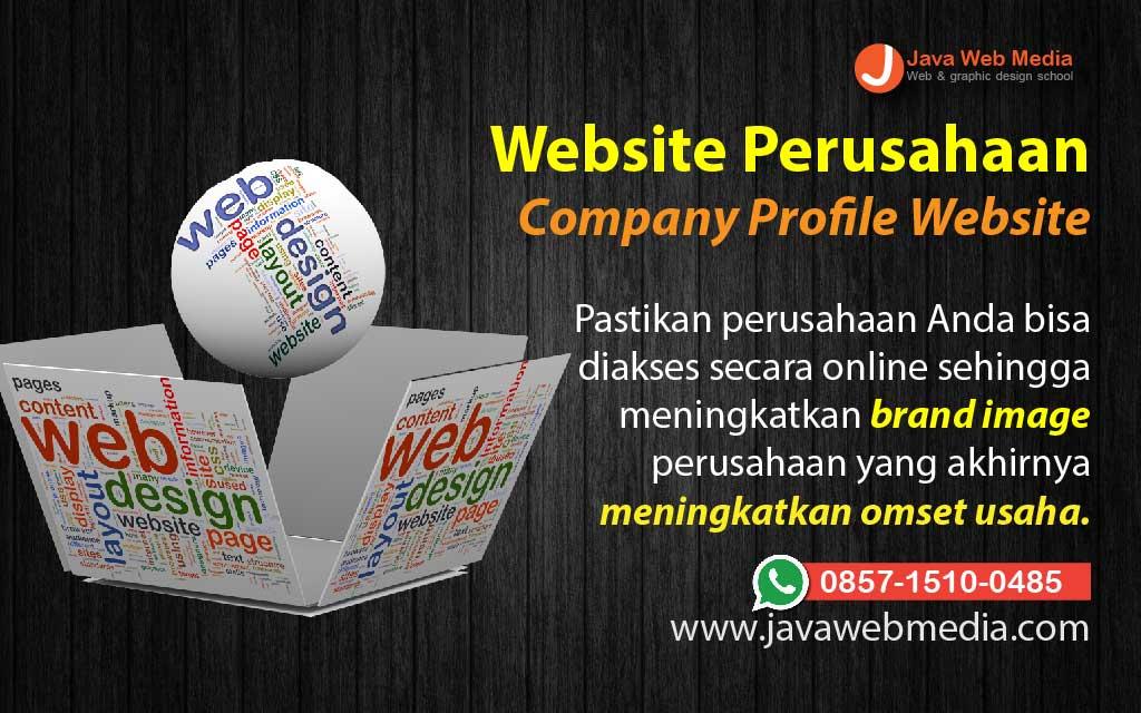 Pembuatan Website Profil