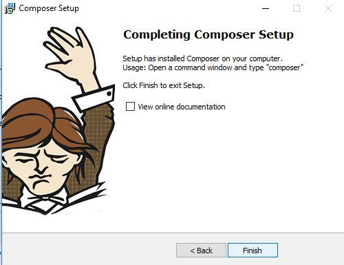 Cara install Composer di Windows