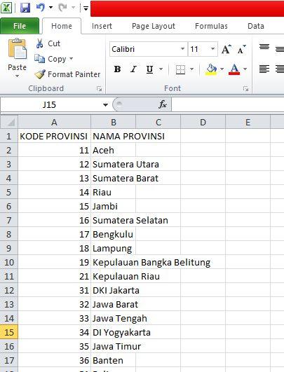 Laporan Excel dengan Codeigniter - Kursus Web Java Web Media
