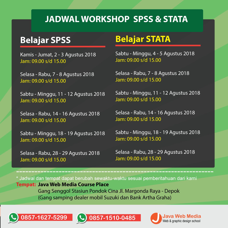 Kursus Statistik SPSS dan STATA