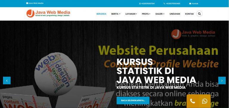 Kursus Web Depok - Java Web Media